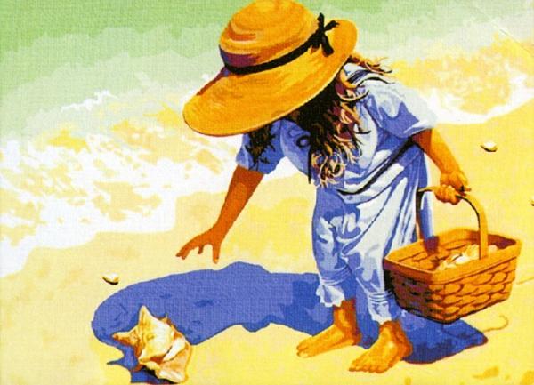 На пляж, за ракушками! (Цветной) купить c доставкой в ...