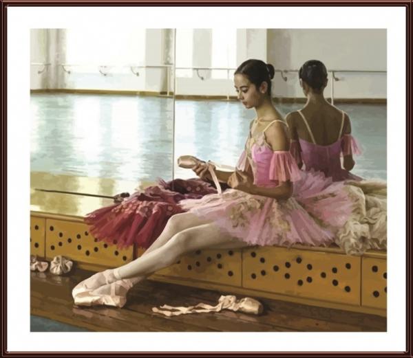 Балерина в розовом (Колор Кит) купить c доставкой в Москву ...