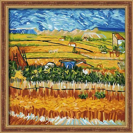Пейзаж с голубой повозкой, Ван Гог (Колор Кит) купить c ...