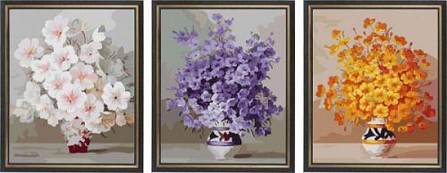 Цветы в вазах (Колор Кит) купить c доставкой в Москву ...