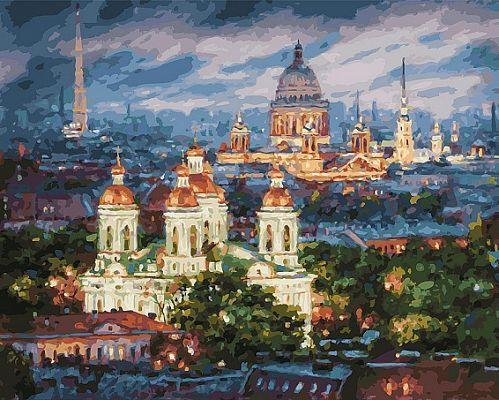 Все краски вечера.Санкт-Петербург (Белоснежка) купить c ...